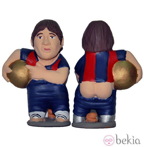 Caganer de Messi