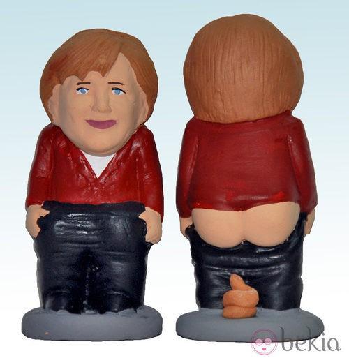 Caganer de Ángela Merkel