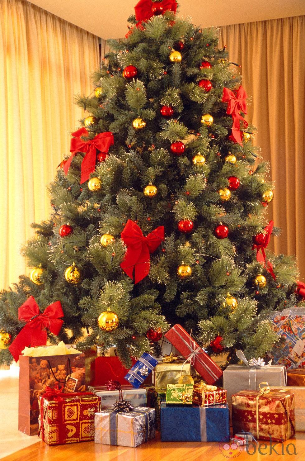 Arboles de navidad decoracion con estilo moda y belleza - Arbol de navidad decorado ...
