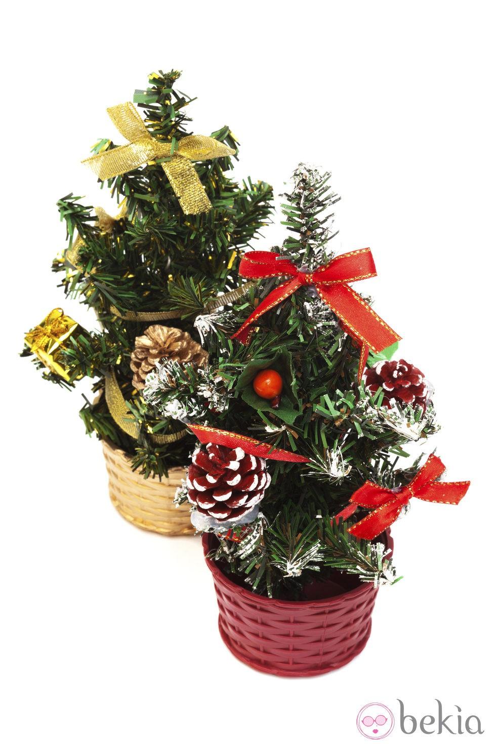Peque os rboles de navidad fotos de navidad en bekia navidad - Arboles de navidad pequenos ...