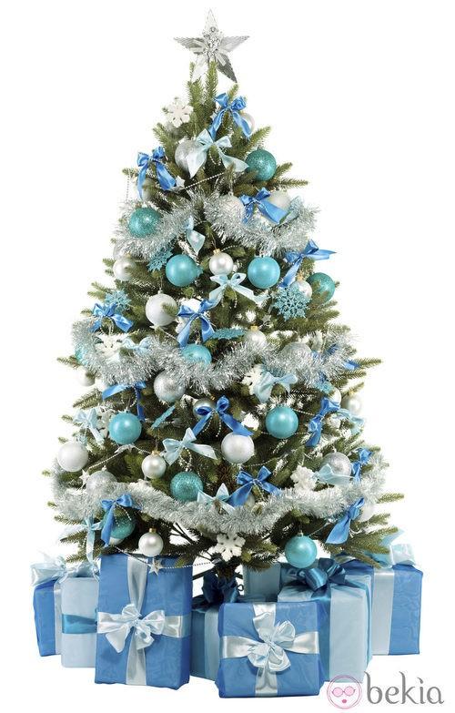Adornos para el rbol de navidad 2010 beb s ni os y - Arbol de navidad blanco ...